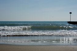 18 Ozean mit Reflexionen/Ocean with reflections