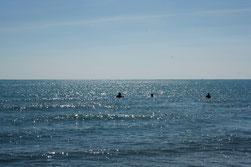 10 Ozean mit Menschen/Ocean with people