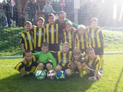 Spielerisch und mannschaftlich top - unser U8-Team!