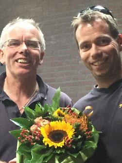 Links: Bert en Rechts Arjan Ottens