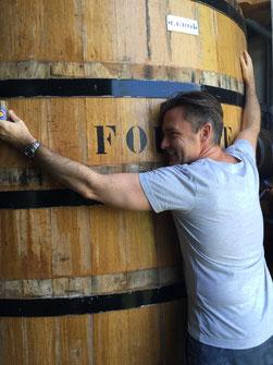 """Fass """"Le Roi"""" bei Bielle © Rum Rarities"""
