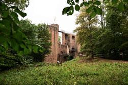 Burg Montclair auf der Saarschleife
