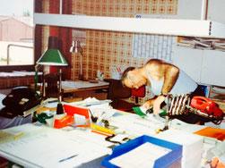 Büro im Kinderzimmer