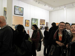 Pictures of the Galerie Monod's exhib. in January 2013