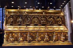 Der Dreikönigsschrein im Kölner Dom