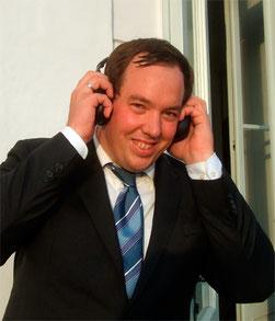 Christoph sorgt als DJ Loco für gute Stimmung