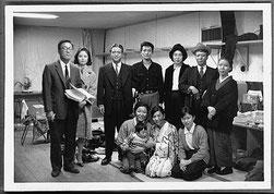 昭和40年12月「姉の言葉」 八幡市民会館の楽屋