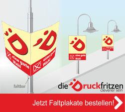Jetzt Hohlkammer Faltplakate bei diedruckfritzen bestellen!