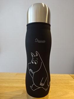 黒 水筒 大人が持てる水筒  かっこいい水筒