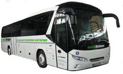 der Bus für Busreisen
