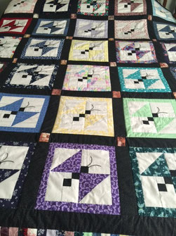 Alice Minchow's beautiful quilt.