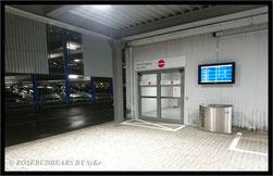 der Ausgang von Terminal D