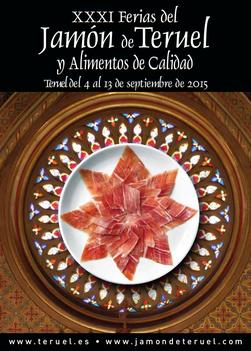 Ferias del Jamón de Teruel 2015 Programa