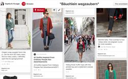"""Screenshot von meinem Pinterest-Board """"Bäuchlein wegzaubern"""""""