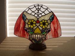 Sugar Skull Fan Lamp