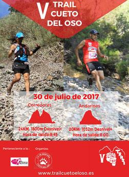 V TRAIL CUENTO DEL OSO - Palacios del Sil, 30-07-2017