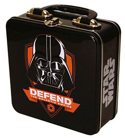 Lunchbox mit Darth Vader Relief