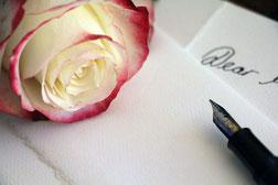 Liebesbrief schreiben