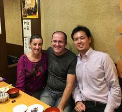 Mónica, Nestor, Ryosuke