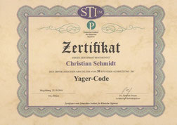 Yager-Code bei Hypnosecoaching Christian Schmidt