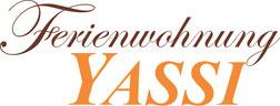 Logo Ferienwohnung - Zimmer - Frühstückspension Yassi in Spielberg - 3 km vom Red Bull Ring