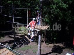 Harzer Hochseilgarten---------------------foto:Sparkie/pixelio.de