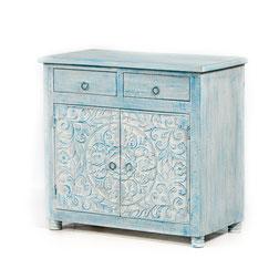 Oosterse meubelen met lotus houtsnijwerk