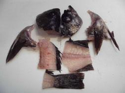 調理したメバルの中落ちの写真