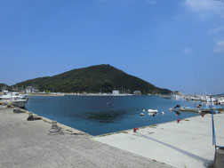 室津下漁港の写真
