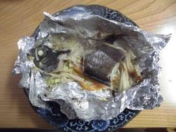 メバルのホイル焼きの写真