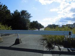 新門司港 釣り場経路の写真