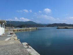 阿川漁港 こちらからどうぞ