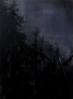 Matthieu van Riel Schilderijen. Wald Empfindung (4) 76x56cm acryl en olie op canvas 2018