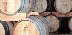 Weingut Mathieu Reife im Barriquefass