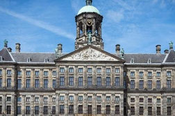 The kings palace on Amsterdam square
