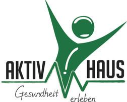 Logoentwicklung für das Fitness- und Gesundheitscenter AKTIV-HAUS in Duisburg