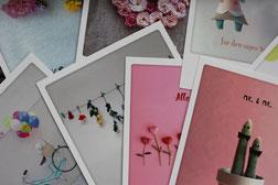 Pickmotion-Postkarten