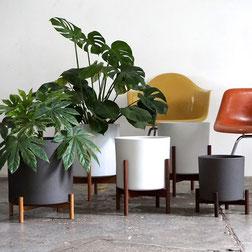 Mid Century Modern Planter Eames Herman Miller