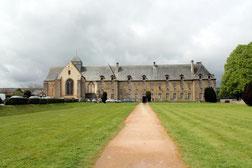 L'abbaye de Paimpont.