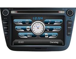 Navigationsgerät / Naviceiver AL-CAR EASINAV Drive für Fahrzeuge der Marke KIA