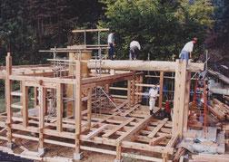 「樹の家」建前