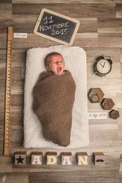 photo faire-part de naissance personnalisé
