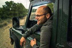 Tobias van Krieken overland reiziger