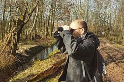 Tobias van Krieken ecoloog en natuurbeschermer