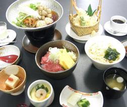 選べる三色御膳 1,150円(税別)