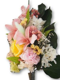 プリザーブドフラワー,仏花,スティックタイプ,お彼岸,お盆,お悔やみ,お供