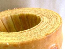 バームクーヘン(直径14cm×4cm)引き出物にどうぞ。