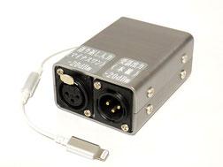 スマホと音声卓を接続する簡易装置