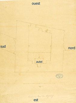 Plan de la tour de Veyrines