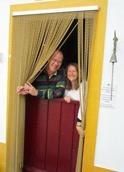 Ernst en Enrica verwelkomen u graag in het mooie Portugal